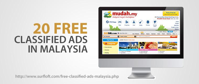 Free classified ads Malaysia | SurfLoft